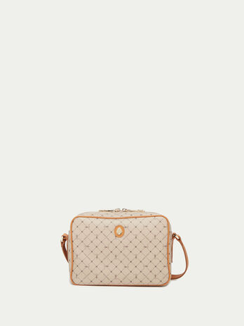 Mini Crespo leather Monogram crossbody bag