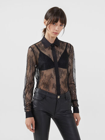 Light lace shirt