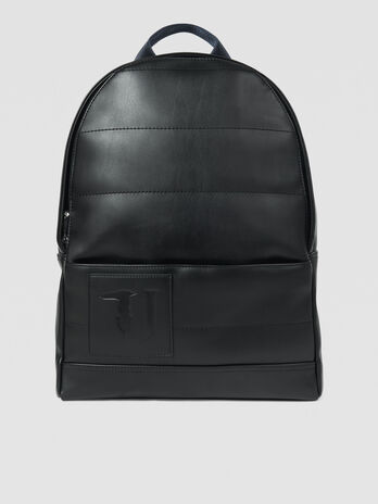 Medium faux leather Tici backpack