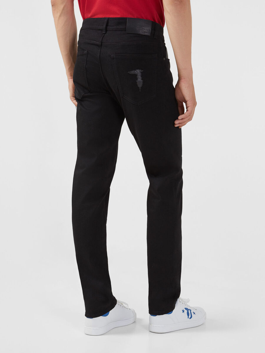Close Fantasy 370 jeans in black Diego denim