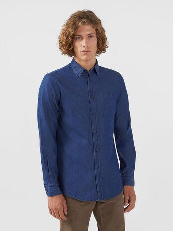 best service fb21e 25c34 Camicie di jeans da uomo | Trussardi ®
