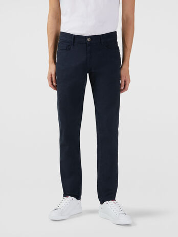 Close 370 jeans in cotton gabardine