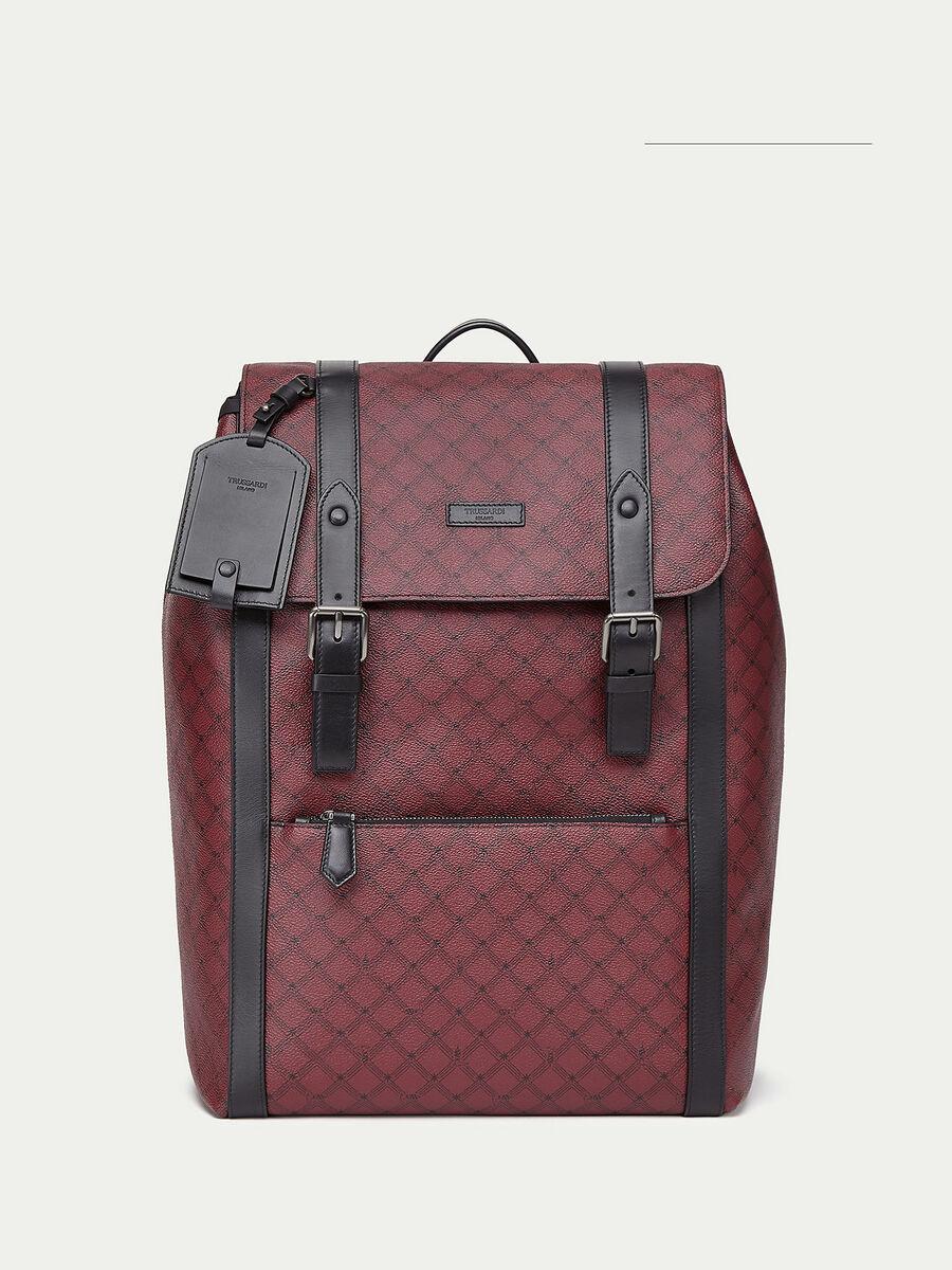 Large Crespo leather Monogram backpack