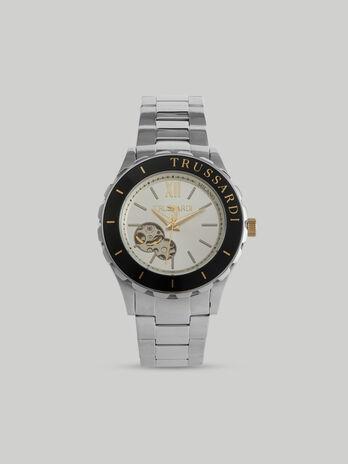 Armbanduhr T-Logo 43MM aus Stahl