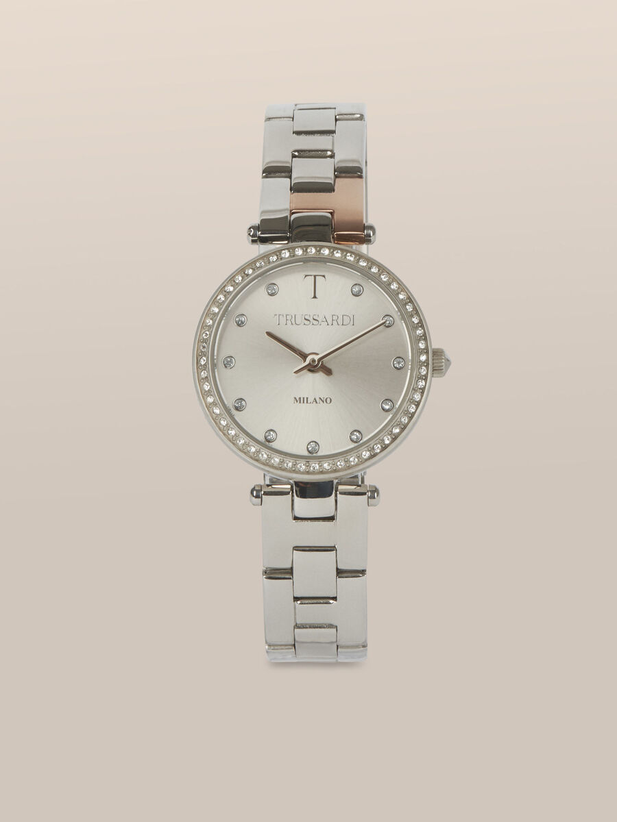 32 MM T-Sparkling watch in steel