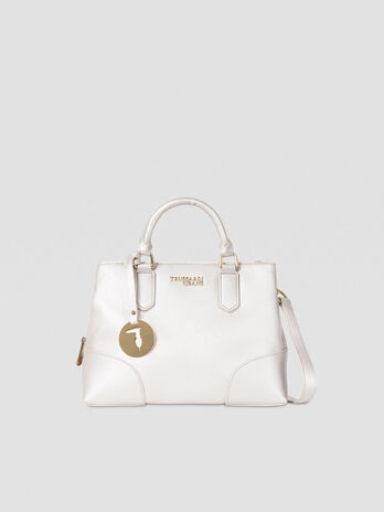 Tote bag Bella small in similpelle laminata