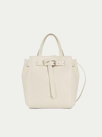 Gita bag tote small in pelle opaca con fibbia annodata a50fe219b36