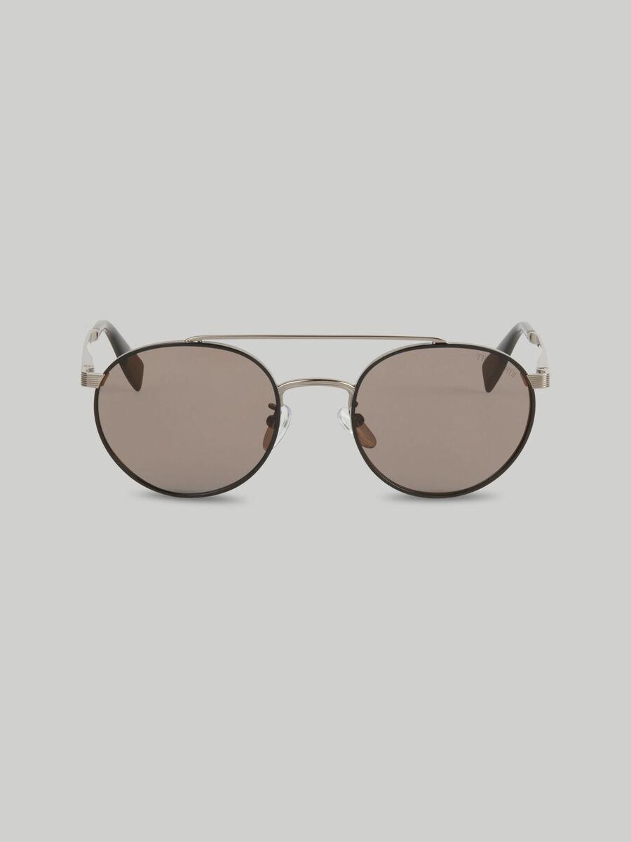 Round metal sunglasses