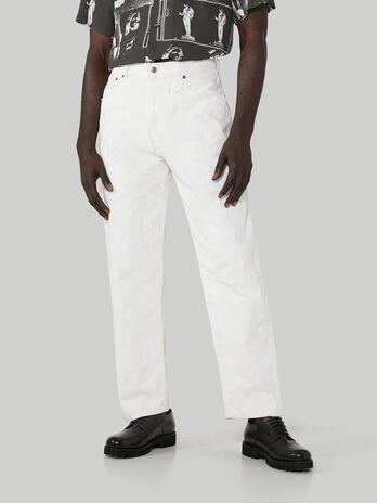 80s loose-fit jeans in Jean denim