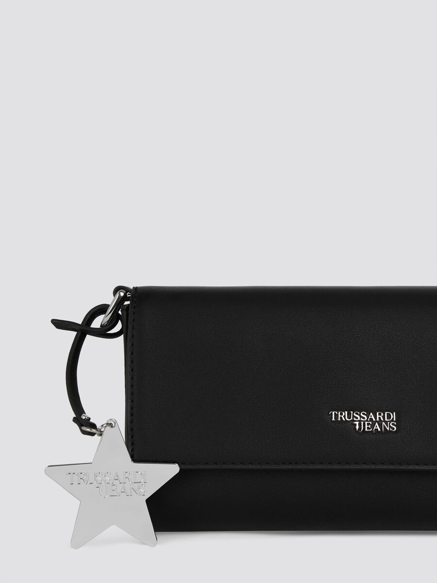 Mini clutch T-Easy Star in similpelle con stella