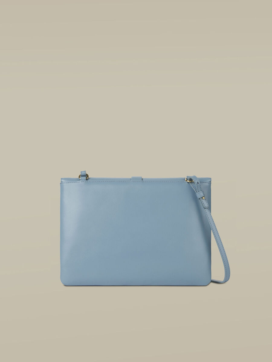 Medium leather Leila clutch