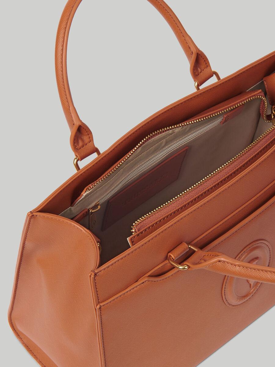 Handle bag Dahlia medium in similpelle saffiano