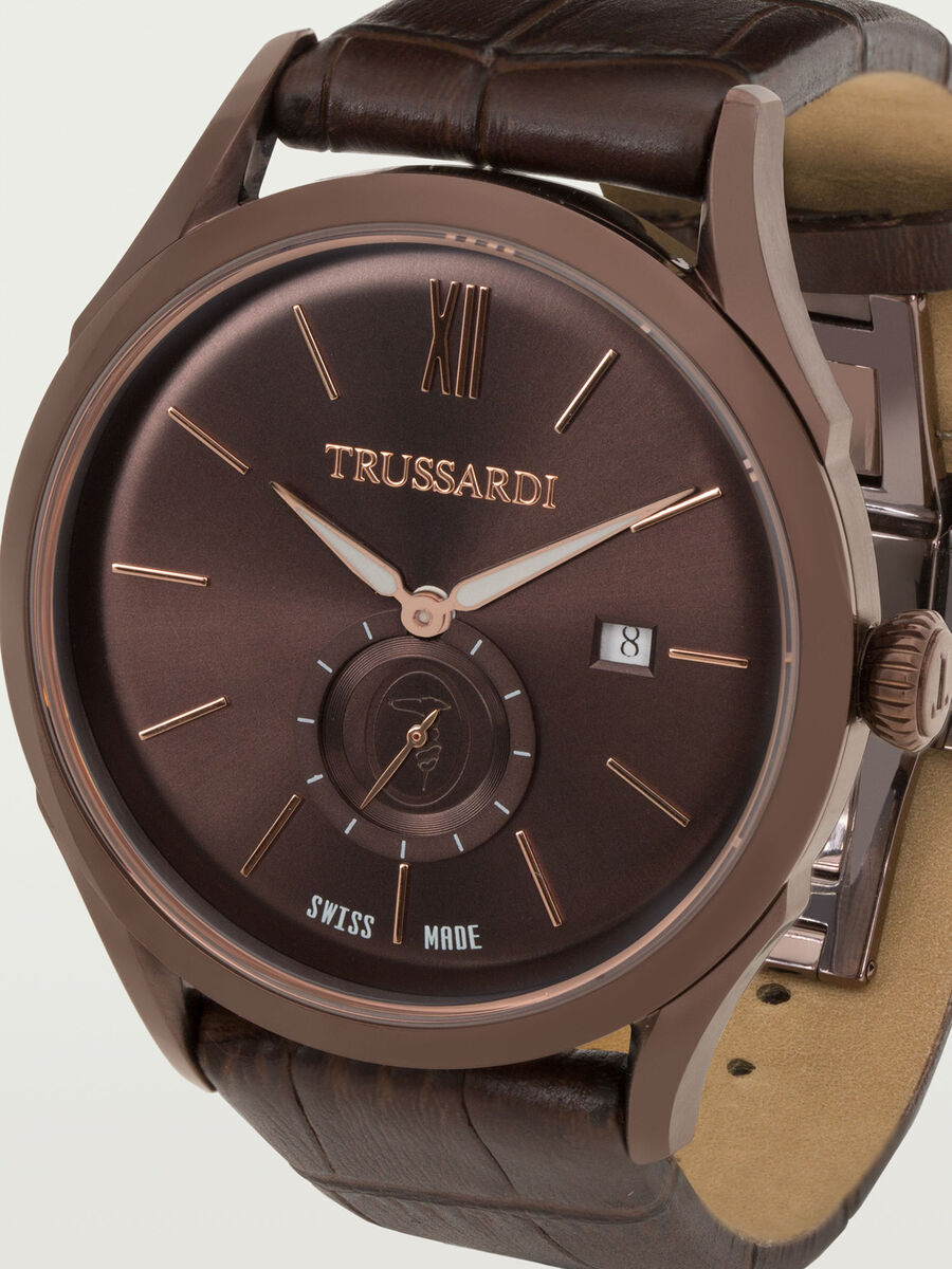 Milano Watch with Brown Dial