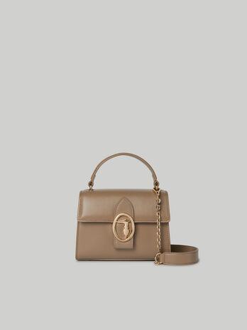 Tasche Grace Small aus glattem Kunstleder