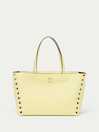 Shopping Bag Vele medium in vitello dollaro