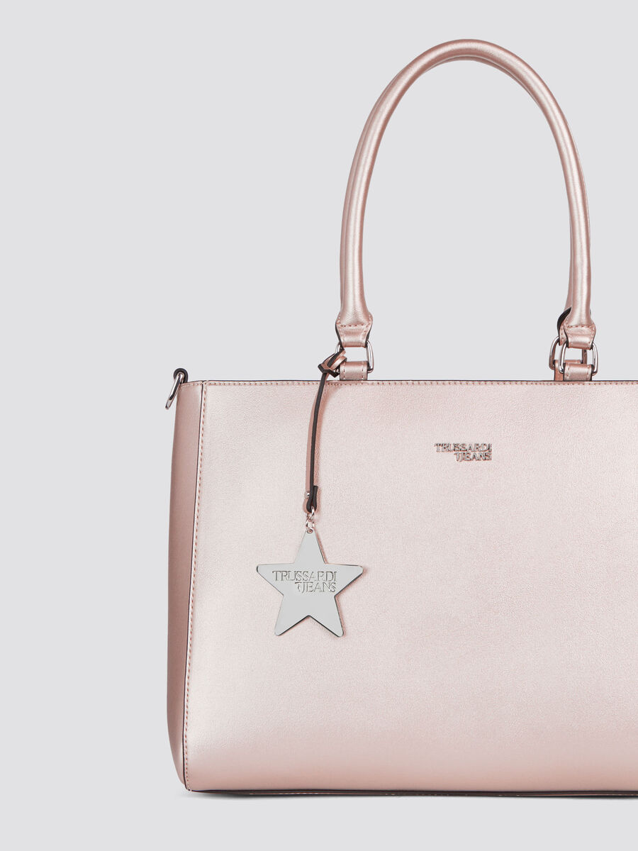 T-Easy Star a mano medium in similpelle charm
