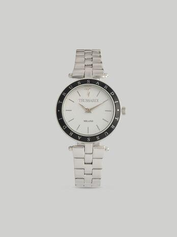 Armbanduhr T-Shiny 34MM mit Stahlarmband