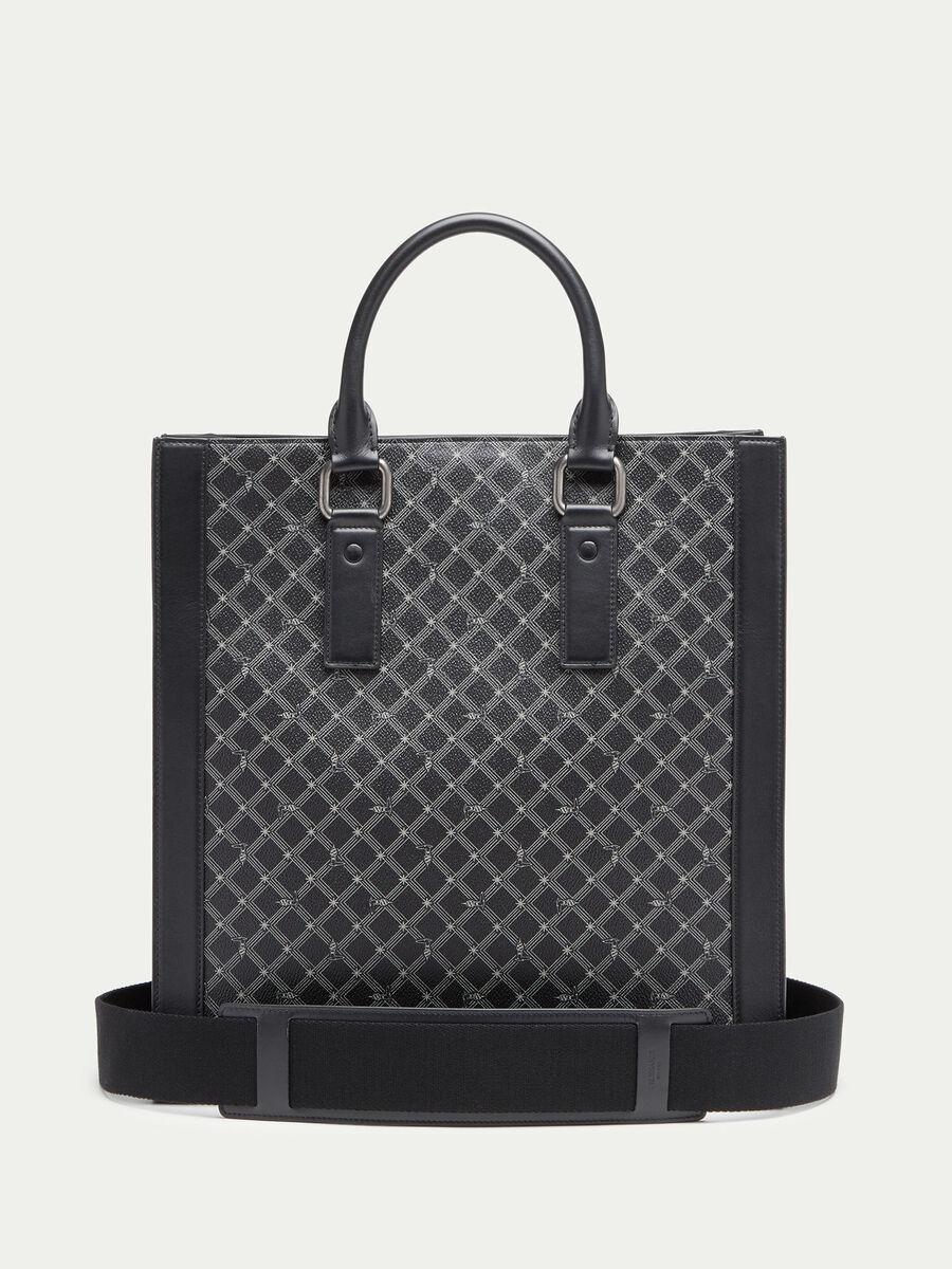Crespo leather Monogram tote bag