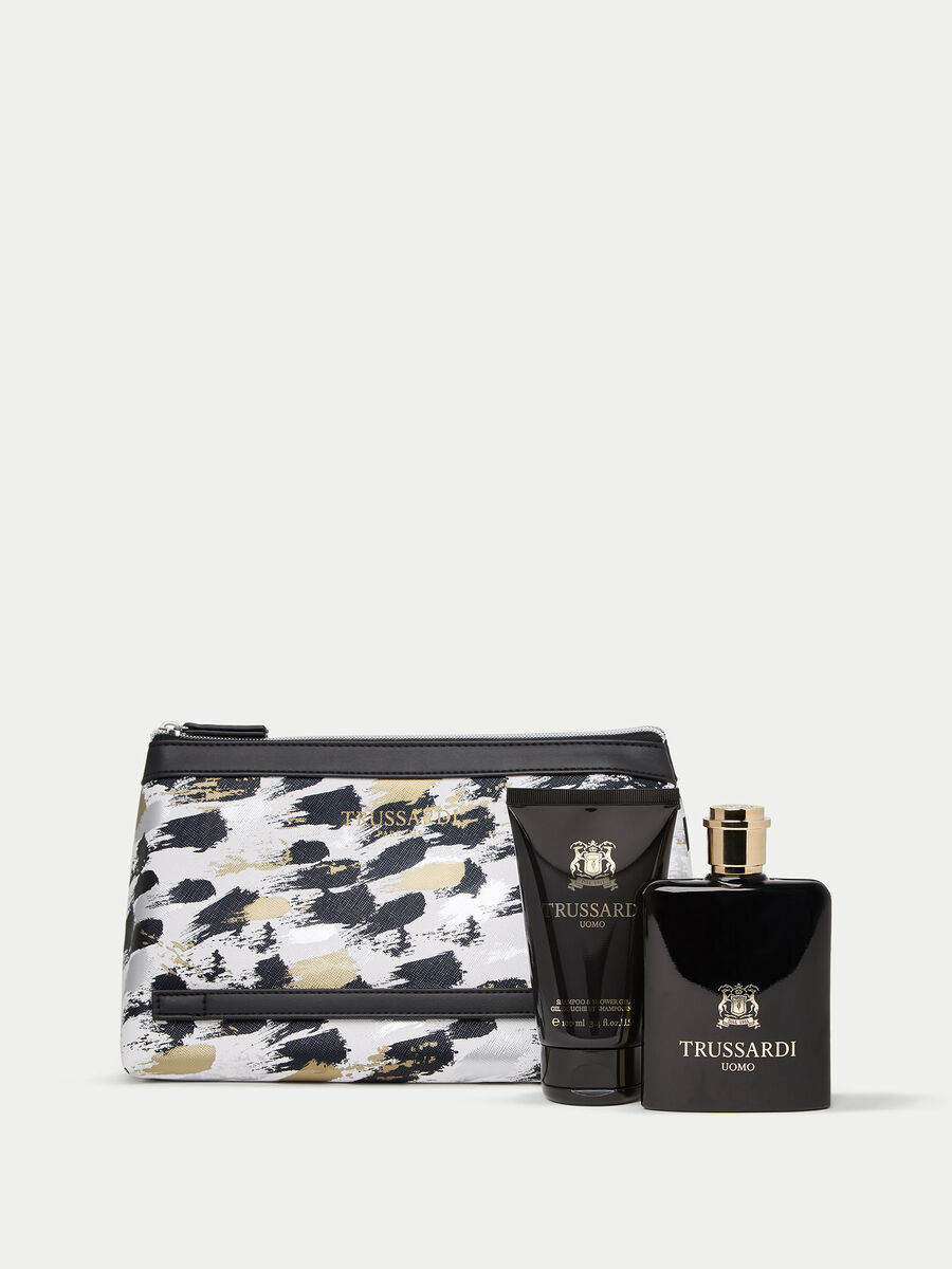 Trussardi Uomo Perfume   Shower Gel and Toiletry Bag Set