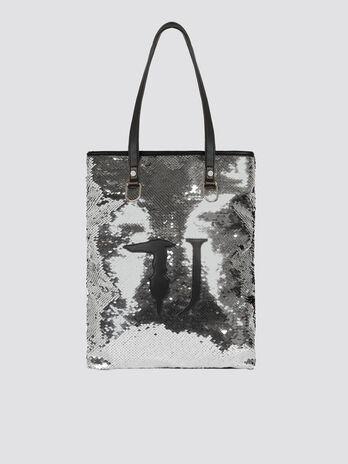 Handtasche T-Wow Night Small mit Pailletten und Logo