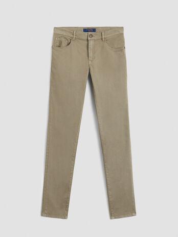 Heavy gabardine Close 370 trousers