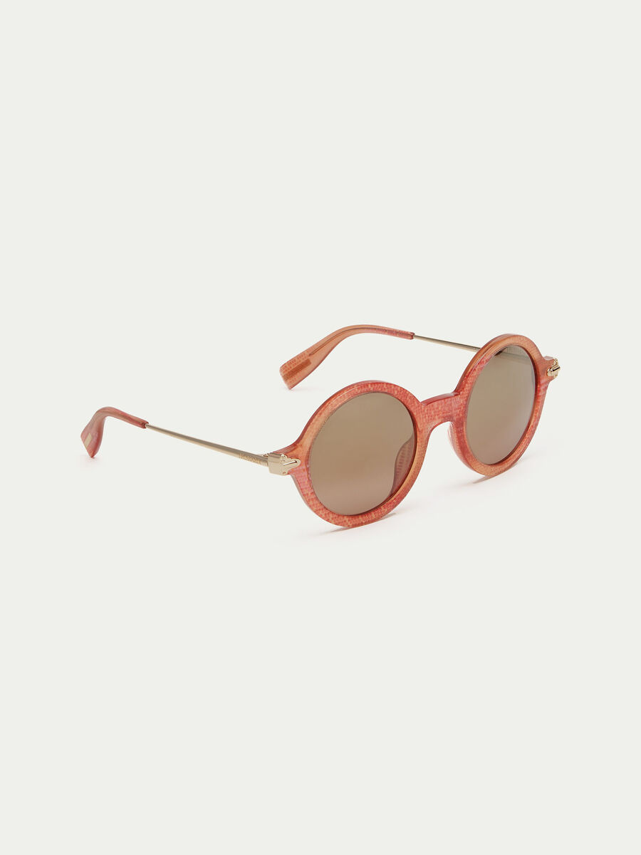 Pearly-effect sunglasses