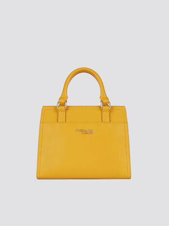 Borsa T-Easy light Tote small in saffiano con logo