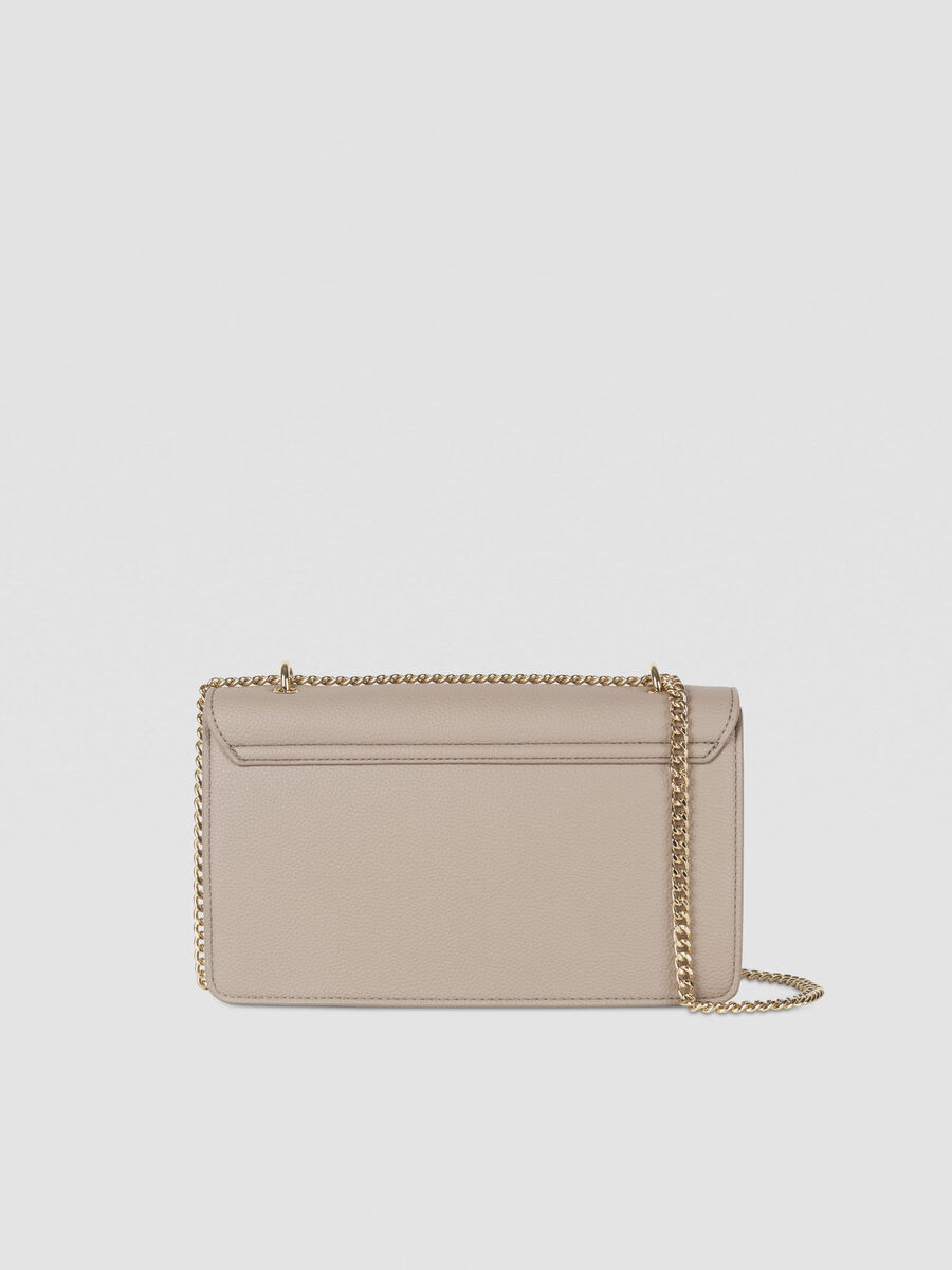 Medium Charlotte crossbody bag in faux leather