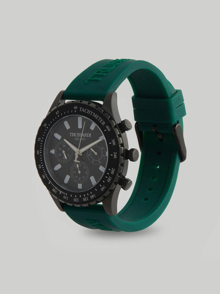 Montre T-Logo 45MM a bracelet en silicone