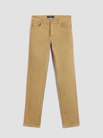 Heavy cotton gabardine Icon 380 trousers