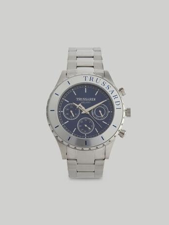 Montre T-Logo 45 MM a bracelet en acier