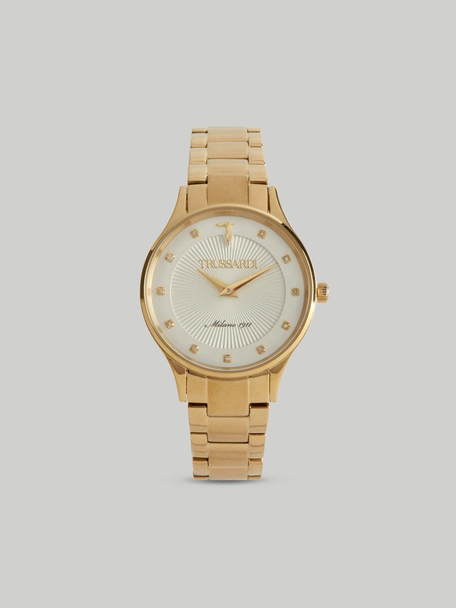 Orologio Gold Edition 34MM con bracciale in acciaio