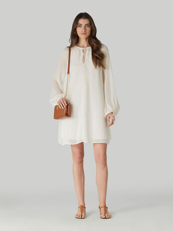 Fil coupe tunic dress