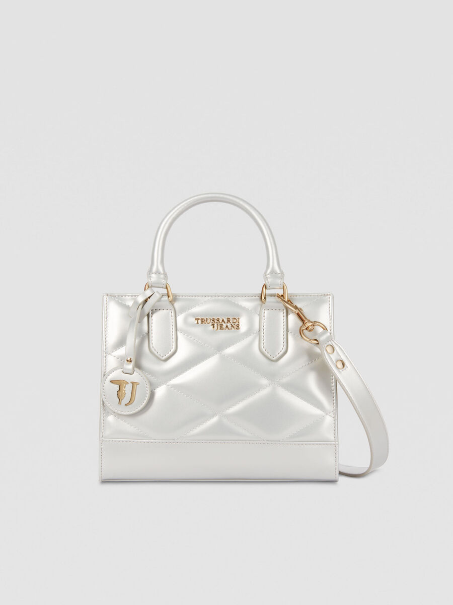 Small T-Easy City tote bag in faux leather