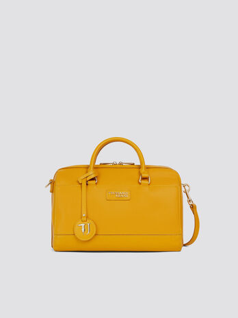 Light midi T-Easy trunk bag saffiano print and logo