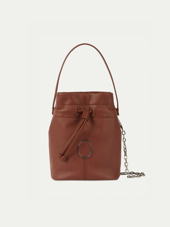 Bucket Bag aus Nappaleder