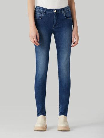 Regular-fit Flames denim 260 jeans