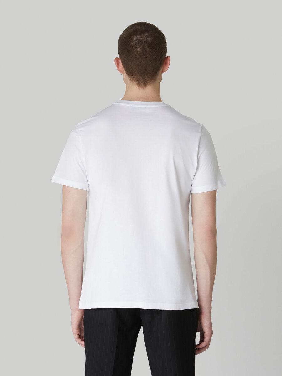 T-Shirt im Regular-Fit aus reiner Baumwolle mit Print