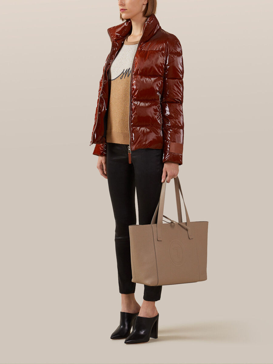 Medium Olivia shopper in Lordship leather