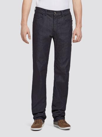 Jeans stretch con lavaggio risciacquato