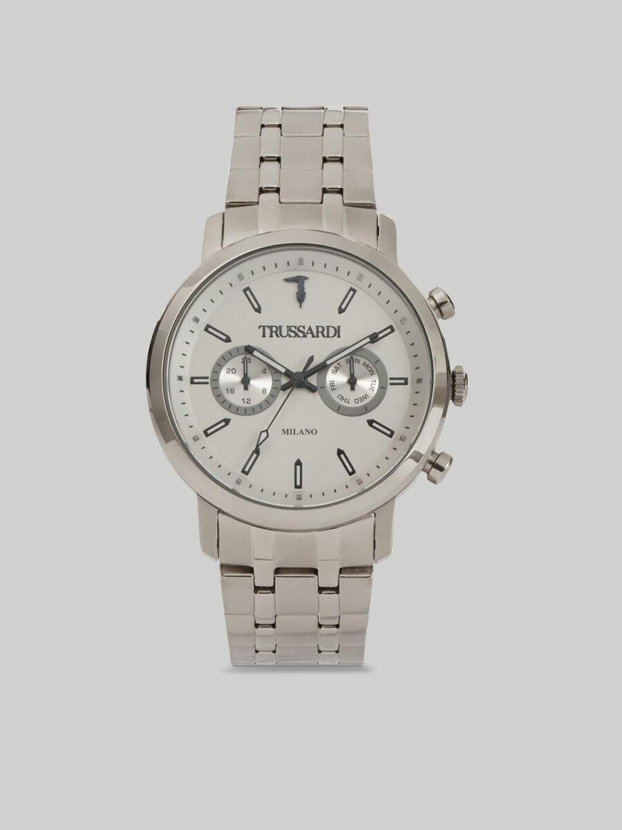 Armbanduhr T-Couple 43MM mit Stahlarmband