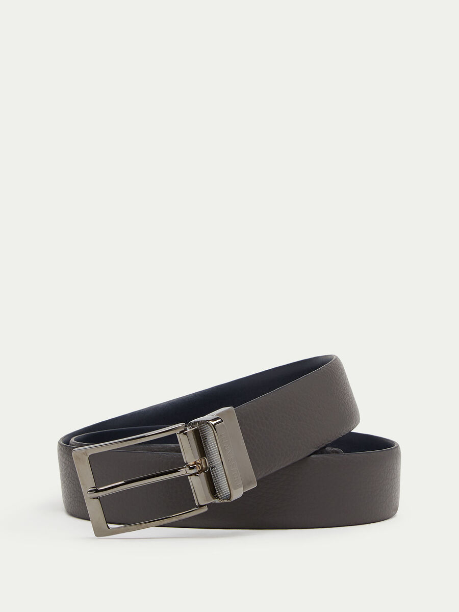 Double face belt in Gange and Crespo leather