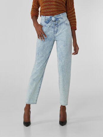 Jean New Hera en denim tres souple