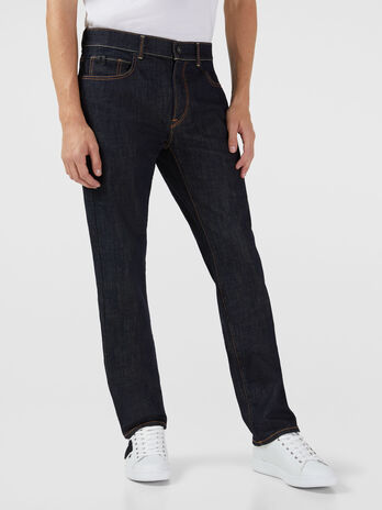 Icon 380 jeans in Gold stretch denim