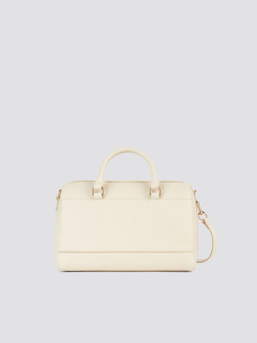Light midi T-Easy trunk bag saffiano print and logo