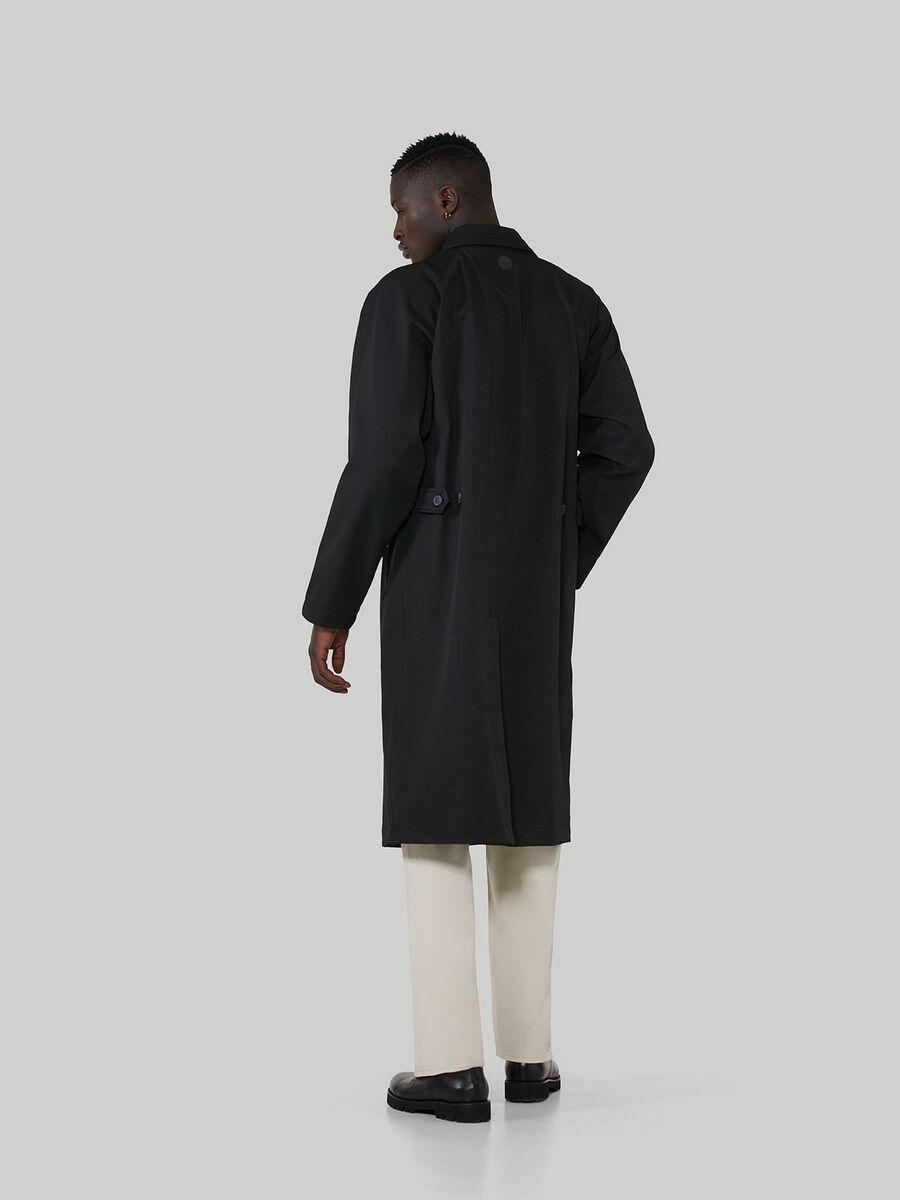 Coated fabric overcoat