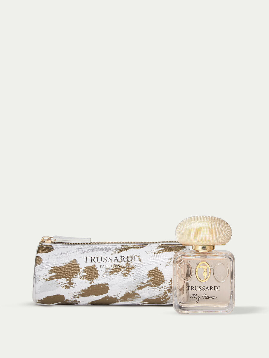 Trussardi My Name Perfume and Make up Bag Set