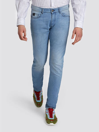Jeans 370 Extra Slim Seasonal aus Denim