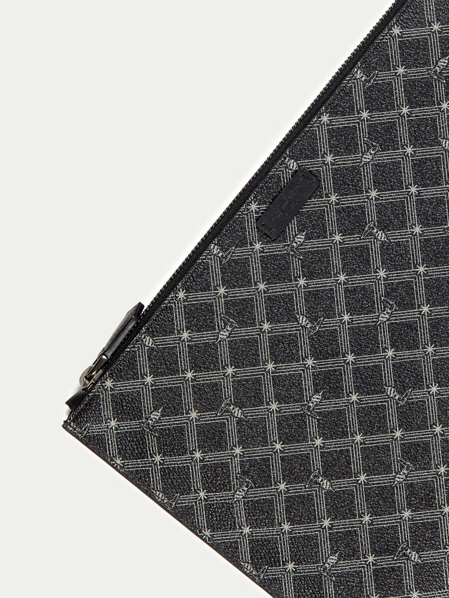 Crespo leather Envelope Monogram