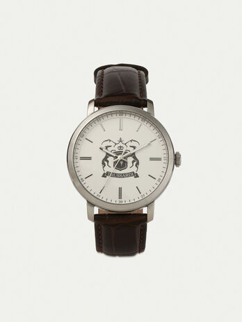 Montre T-Couple 41MM a bracelet en cuir